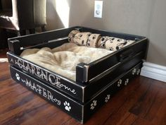 http://www.shoppinggamesforkids.com/category/pampers-wipes/ 10 Doggone Cute DIY Pallet Dog Beds For Pampered Pooch                                                                                                                                                     More