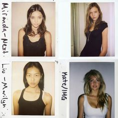 Before They Were Famous: Supermodels' First Polaroids - theFashionSpot