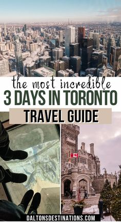 If you are planning to travel to Toronto be sure to check out this travel guide! Including places to see, best places to eat, and where to stay   Toronto Canada   Toronto city guide   Toronto travel guide   Toronto vacation   Toronto food   Toronto winter   Toronto things to do   Toronto places to visit   Toronto things to see   Toronto skyline   Toronto CN Tower   Toronto Raptors   Toronto downtown   Toronto Casa Loma   Toronto attractions   Toronto at night Canada Toronto City, Toronto Winter, Toronto Vacation, Toronto Travel, Toronto Skyline, Downtown Toronto, North America Destinations, Visiting Niagara Falls, Visit Toronto
