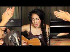Kinna Grannis... Rolling In The Deep - Adele Cover