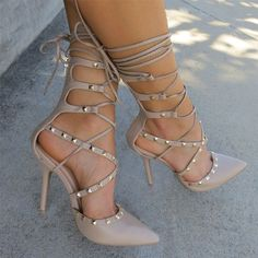 Nude Pumps - Shop Now