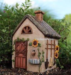 Miniature Fairy Workshop w/hinged door # 536  Fairy Garden Dollhouse