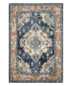 Take a look at this Navy & Light Blue Marybeth Rug today!