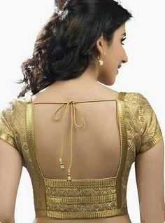30 Latest Patch Work Saree Blouse Designs