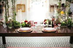 Moroccan Vibe At The Ebell Of Long Beach - Inspired Bride