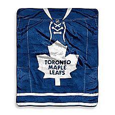 image of NHL Super-Plush Raschel Throw Blanket 19d92343b