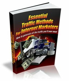Essential Traffic Methods Internet Marketers PDF eBook with full resale rights! Viral Marketing, Internet Marketing, Make Money Online, Online Business, Things To Sell, Pdf, Happy Reading, Private Label, Free Ebooks