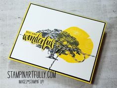 Stampin Artfully: Rooted In Nature Bundle: Bold & Beautiful Samples
