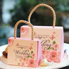 1Pc Love Candy Box Bridal Wedding Candy Packaging Box Creative Sweets Boxes Candy Wedding 6 colors A25 #Affiliate