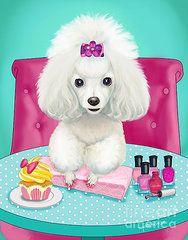 Cupcakes day at the nail spa  by Catia Cho
