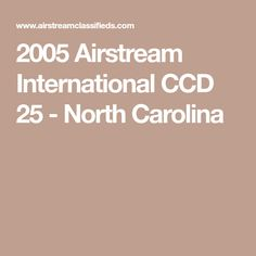 Highly sought after 2005 International CCD with corner queen and plenty of storage. Airstream For Sale, Cornelius, North Carolina