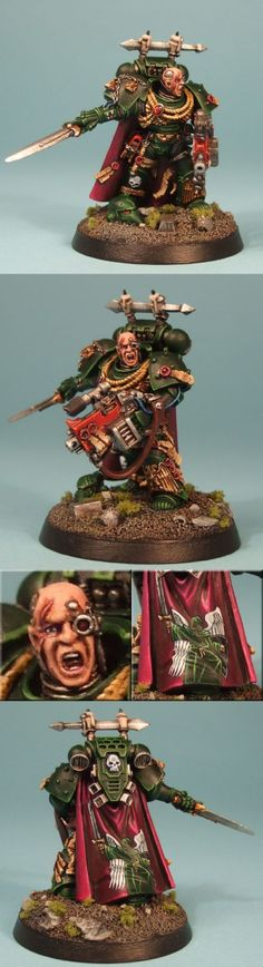 CoolMiniOrNot - Dark Angels Chapter Master by Mudski