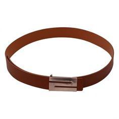 Stylehoops Alphabet Buckle  Brown Belt #belt #brownbelt #bucklebelt