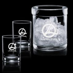 Promotional Products Ideas That Work: Spencer Ice Bucket & 2 OTR. Get yours at www.luscangroup.com