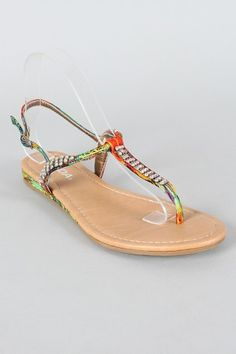 I love Sandals like these in the summer time with like all my outfits that I wear! Even my cute summer dresses. (;