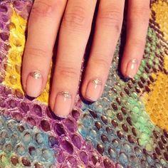 Nails by Sakura, bag by Corto Moltedo