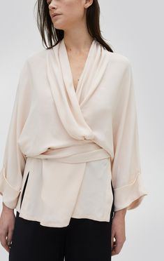 e53a586a49676 Kimono Tennessee Twill - Rodebjer Blouse