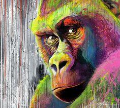 numerik,street art,street-art,street-artist,animaux