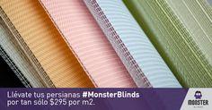 Los mejores precios en las mejores persianas. #monsterblinds #decoracion #estilo #casa #hogar #persianas #blinds #design #interiordesign #remodela #colores #formas #texturas