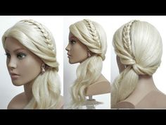 Beautiful Hairstyles for Function: Easy Wedding Hairstyle - YouTube