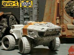 Transporter scifi model.