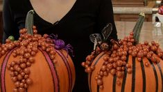 Creative Ideas for Decorating Pumpkins - Halloween with ModernMom