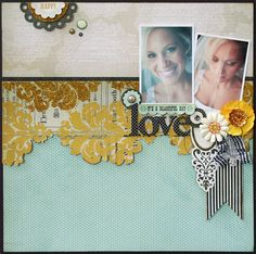 Beautiful layout by @Stacey Michaud ...love this MME line!