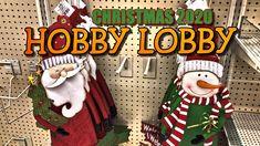 Christmas Decor 2020 • Hobby Lobby Christmas Decor • CHRISTMAS IS COMING🎄 Outdoor Christmas Decorations, Holiday Decor, Hobby Lobby Decor, Hobby Lobby Christmas, Personalized Christmas Ornaments, Christmas Is Coming, Christmas Stockings, Crafts, Youtube