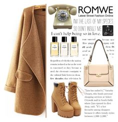 """""""Romwe 8."""" by selmagorath ❤ liked on Polyvore featuring Chanel, Topshop, women's clothing, women, female, woman, misses, juniors and romwe"""