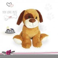 perro de peluche 20cm