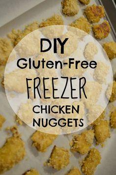 DIY Gluten-Free Freezer Chicken Nuggets