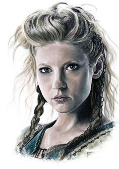 Lagertha drawing.