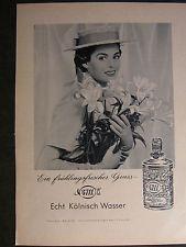 7b0a578910cd 4711 Kölnisch Parfum Werbung um 1950 60 Jahre-Werbeblatt ca.1950 60 Jahren -Nr.17