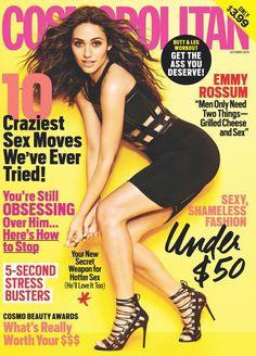 Emmy Rossum Thinks Texting Guys Is Too Dangerous  -Cosmopolitan.com