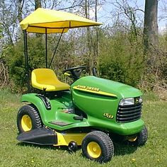 "John Deere LT133 w/ 38"" deck and 42"" plow"
