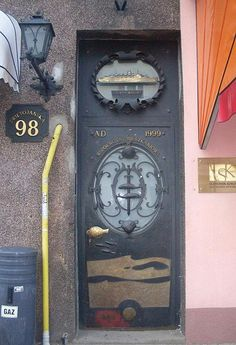 Brass Ship in the window. Artistic Gdynia COA at door, Poland, Truly Amazing!!!!
