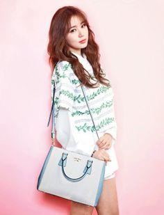 Yoon Eun Hye Designed Bags for Samantha Thavasa Sell Out in Korea Bold Fashion, Korean Fashion, Blue And White Jeans, Female Celebrity Crush, Yoon Eun Hye, Korean Accessories, My Fair Lady, Korean Actresses, Korean Actors