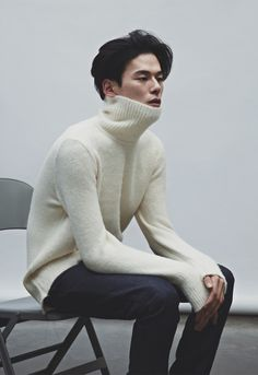KOREAN MODEL • Kim Won Jung for Upscale F/W 2014 collection