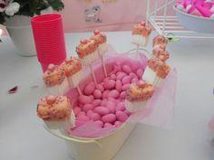Tartas La Campanita: Pink Marshmallow Pops