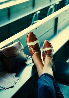 oxfords {a version of which I wear almost every day - and justification for another pair!}