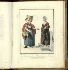 Afbeeldingen van de kleeding, zeden en gewoonten..., 1803