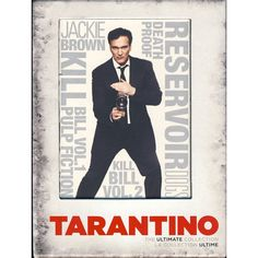 Amazon.com: Quentin Tarantino - The Ultimate Collection (Boxset), Includes: Reservoir Dogs, Pulp Fiction, Jackie Brown, Kill Bill Vol. 1 & 2 and Death Proof: Quentin Tarantino, Harvey Keitel, Tim Roth, Michael Madsen, Steve Buscemi, Pam Grier, Samuel L. Jackson, Uma Thurman, David Carradine, Kurt Russell, Zoë Bell: Movies & TV