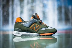 New Balance 577 'Rain Mac Pack' (Olive/Orange) - EU Kicks: Sneaker Magazine