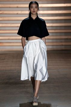 Tibi Spring 2015 Ready-to-Wear Fashion Show - Yue Han