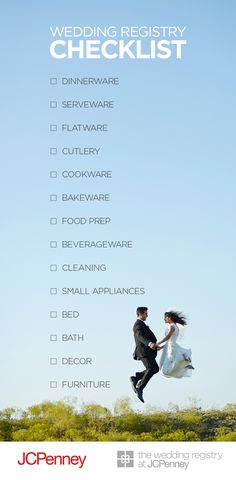 Wedding Registry Take The Fear And Loathing Out Of Planning Find More At Image Link