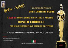 lab-54: OPEN - NIGHT 2014. OSPITE D'ONORE IL MAESTRO DANILO CARTACCI !!!