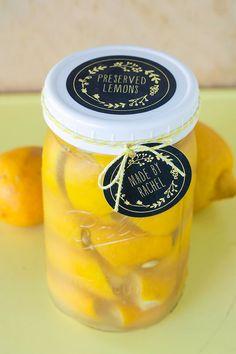 Preserved Lemons Recipe | Evermine Blog | www.evermine.com