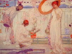 The White Symphony: Three Girls, 1868 James McNeill Whistler