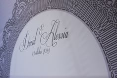 www.italianfelicity.com #wedding #backdrop #lace