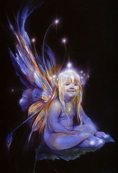 Fantastic Art - Brian Froud This one looks like my baby Hannah